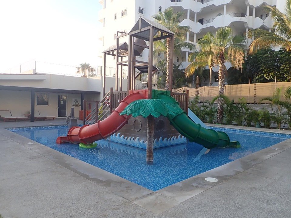 Waterpark at Reflect Krystal in Cabo.   Cabo, Mexico- The Best All Inclusive Vacation