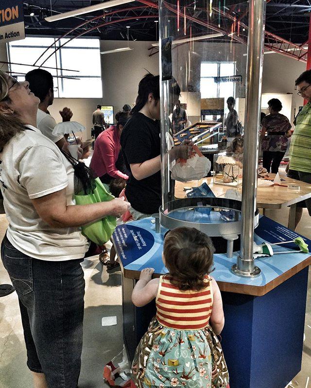 People in the DoSeum in San Antonio.   Week in San Antonio, Texas