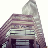 Outside the Westin Copley Hotel in Boston. | Boston, Massachusetts- Adult Getaway
