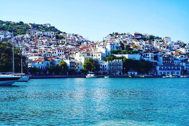 City view of Skopelos Island. | Skopelos Island, Greece- Mamma Mia Island