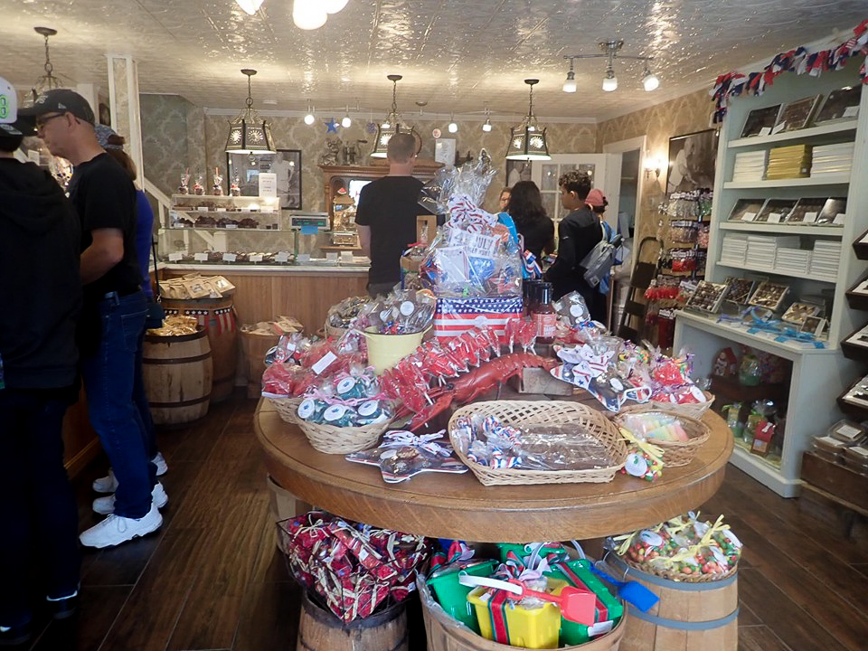 Inside the Ye Olde Pepper Companic, the oldest candy company, in Salem. | What to do in Salem, MA