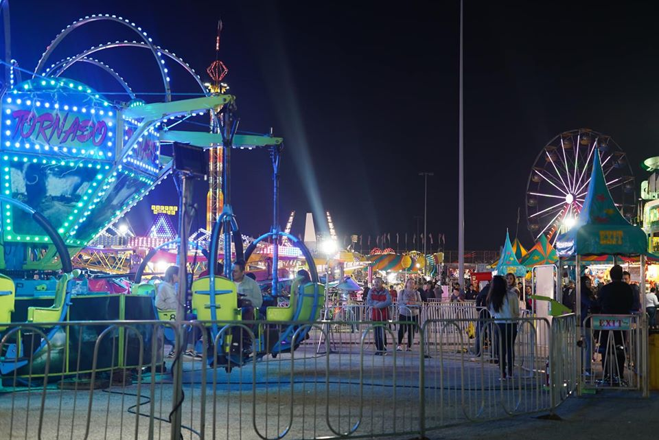Adult rides at the Winter Lights. | Magical Winter Lights Houston
