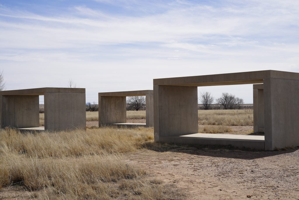 Chinati Foundation art in Marfa. | Marfa, Texas- Where to Stay, What to do, & What to Eat