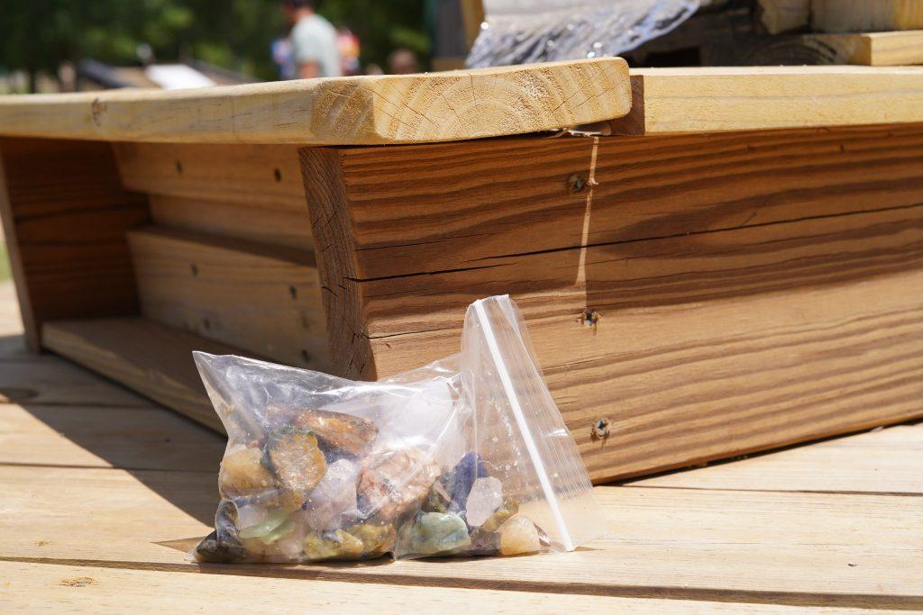 Bag of rocks at Blessington Fields. | Blessington Farms in Simonton, Texas