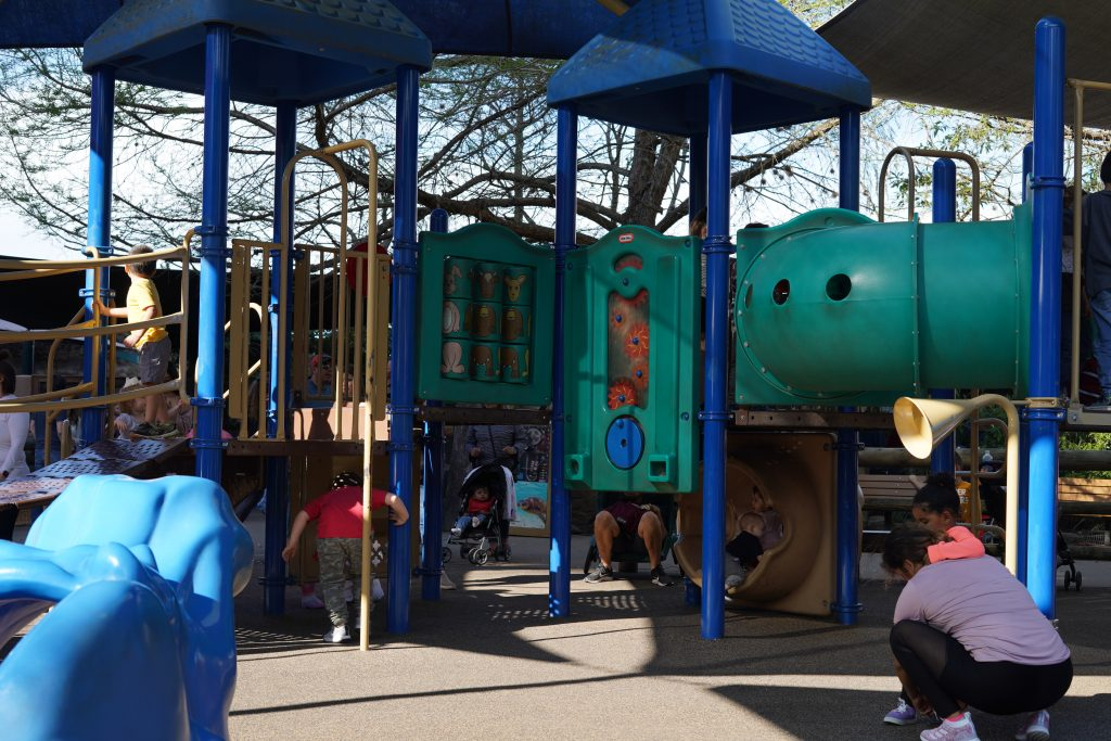 Playground at the zoo. | The Houston Zoo