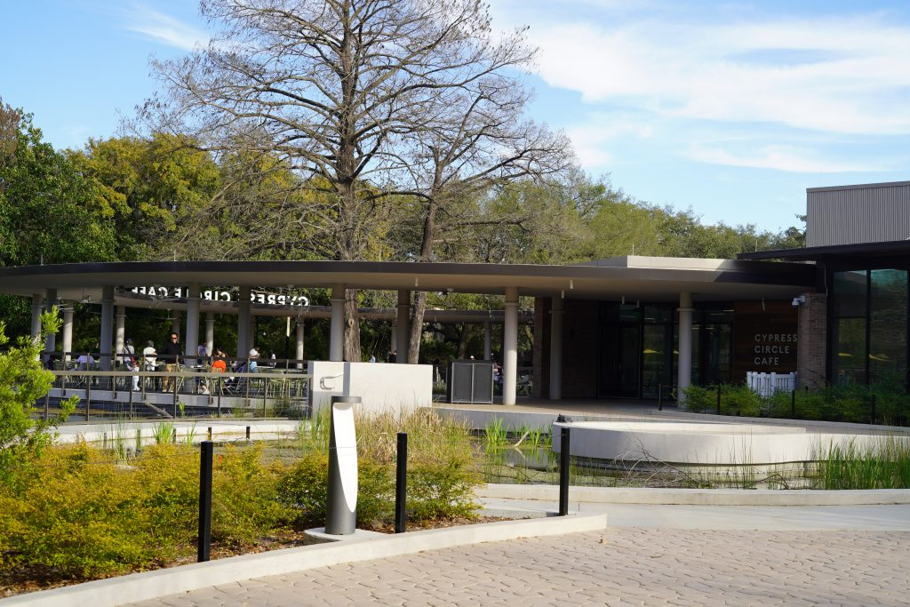 Cypress circle cafe at the zoo. | The Houston Zoo