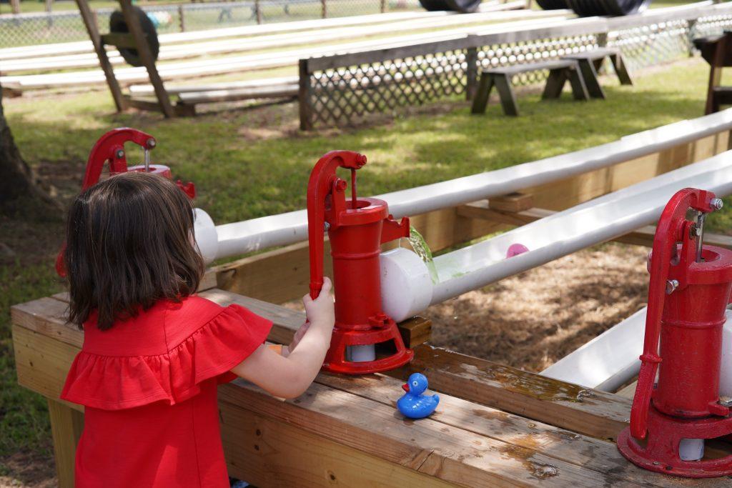 Duck race game at Blessington Fields. | Blessington Farms in Simonton, Texas