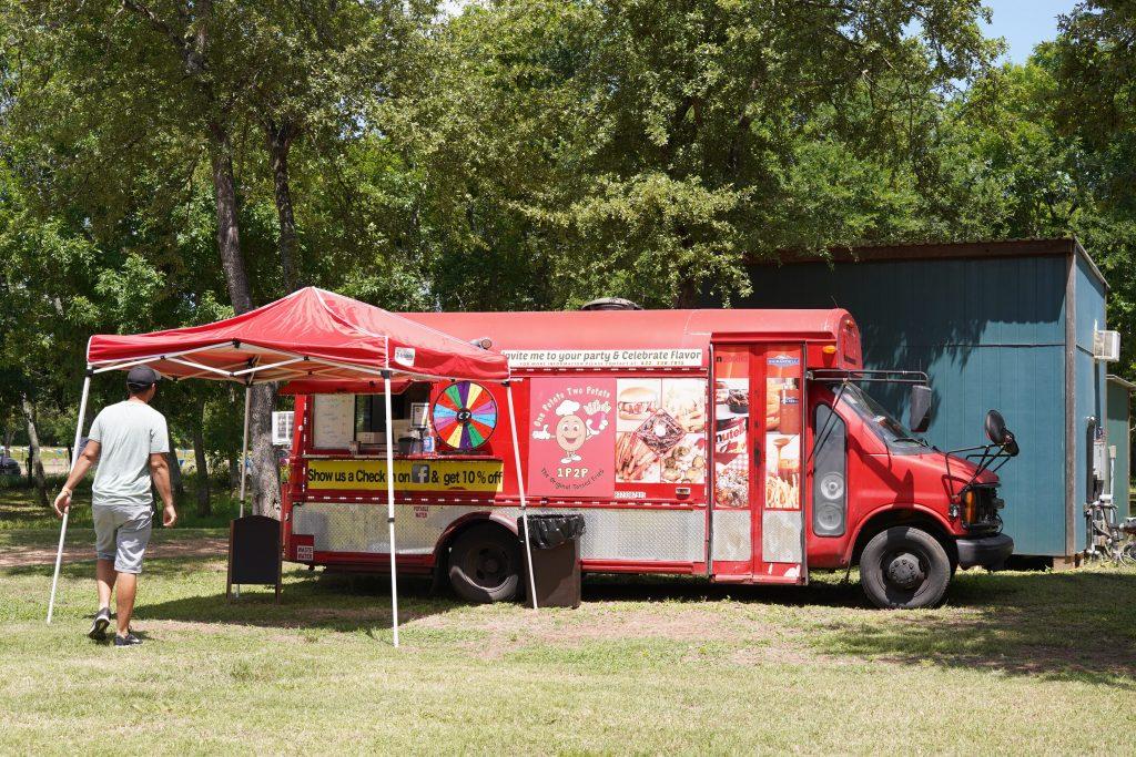 Food truck at Blessington Fields. | Blessington Farms in Simonton, Texas