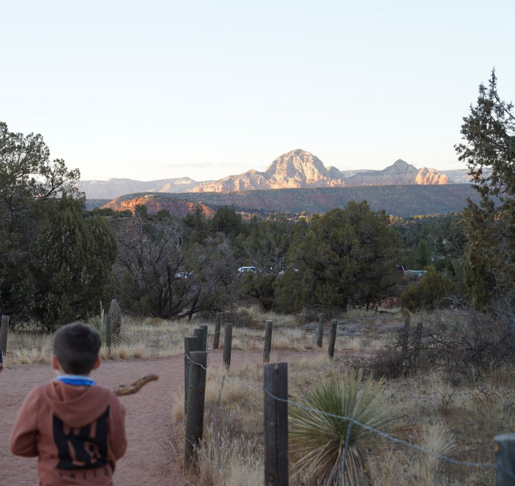 Little boy hiking in Sedona. | Sedona, Arizona: Is it worth it?