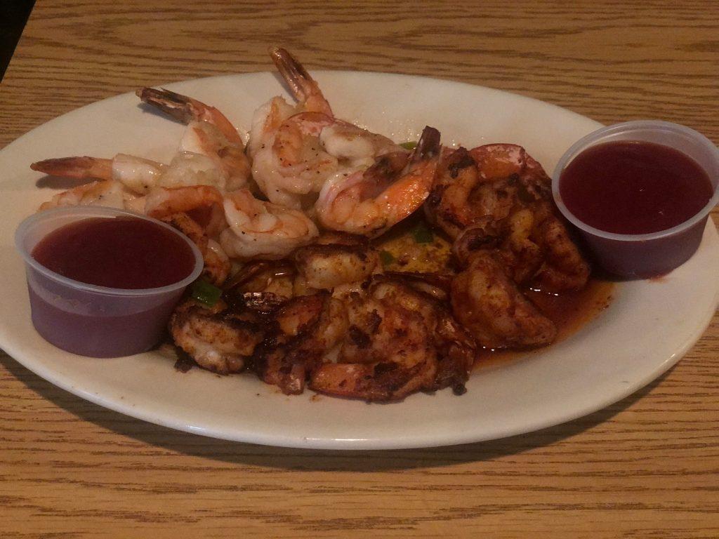 Platter of shrimp.  Guide to Gulf Shores & Orange Beach Alabama