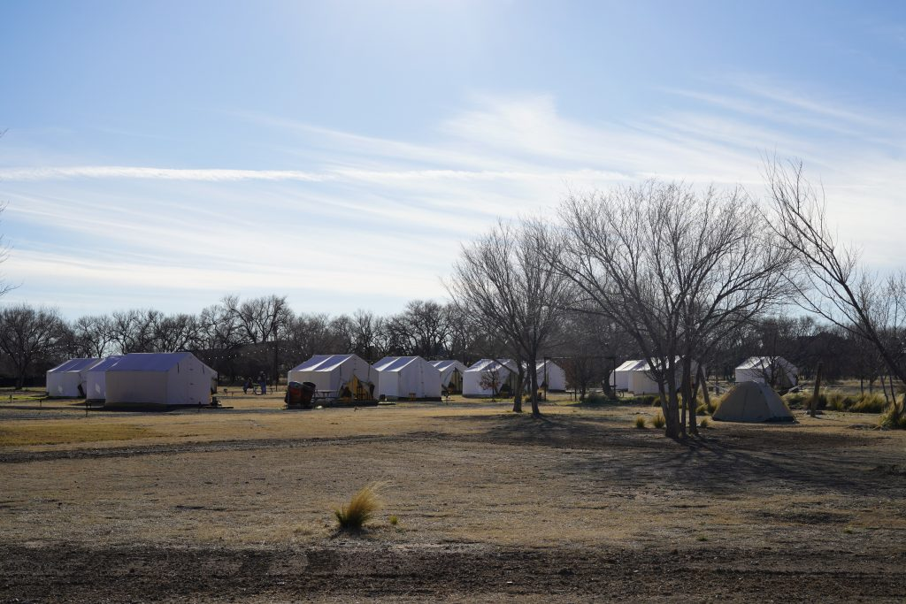 Tents at El Cosmico in Marfa. | Marfa, Texas- Where to Stay, What to do, & What to Eat