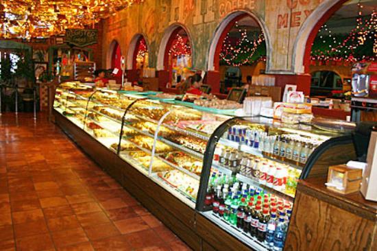 Inside Mi Tierra Cafe Y Panaderia in San Antonio.   Week in San Antonio, Texas