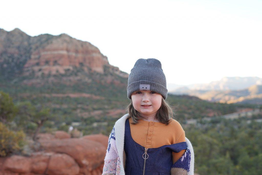 Little girl standing on a rock in Bell Rock in Sedona. | Sedona, Arizona: Is it worth it?